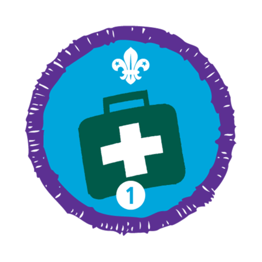 Emergency Aid Stage 1 Staged Activity Badge