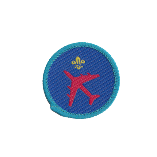Explorers Advanced Avaition Skills Activity Badge (Pre 2015 Collection)