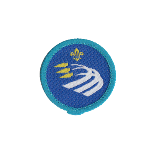 Explorers Air Activities Activity Badge (Pre 2015 Collection)