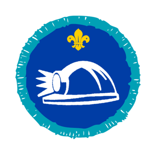 Explorers Caving Activity Badge