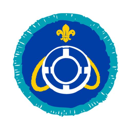 Explorers Lifesaver Activity Badge