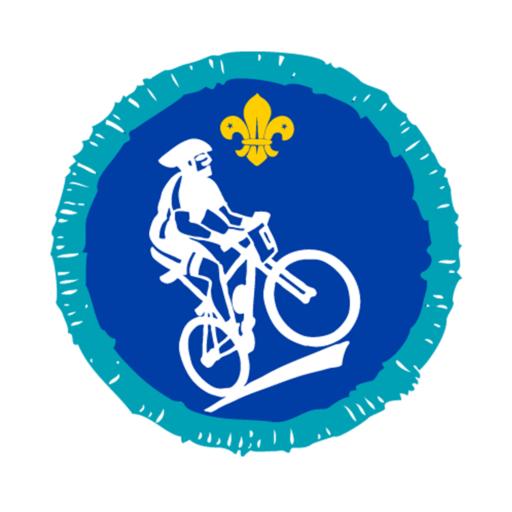 Explorers Mountain Biking Activity Badge