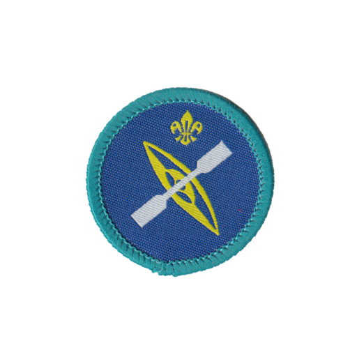 Explorers Paddle Sports Activity Badge (Pre 2015 Collection)