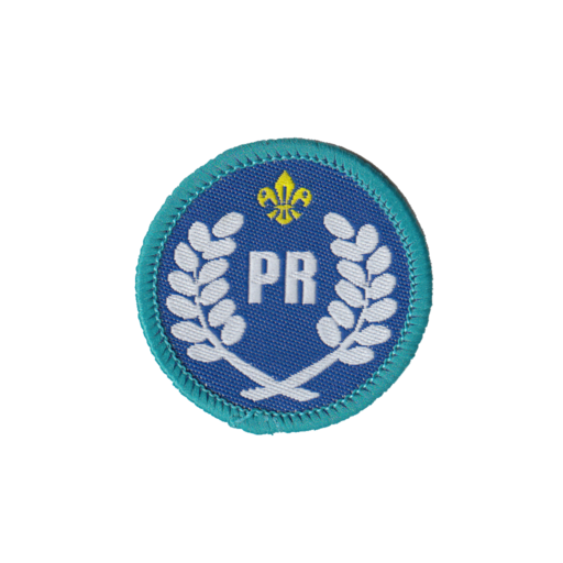Explorers Public Relations Activity Badge (Pre 2015 Collection)
