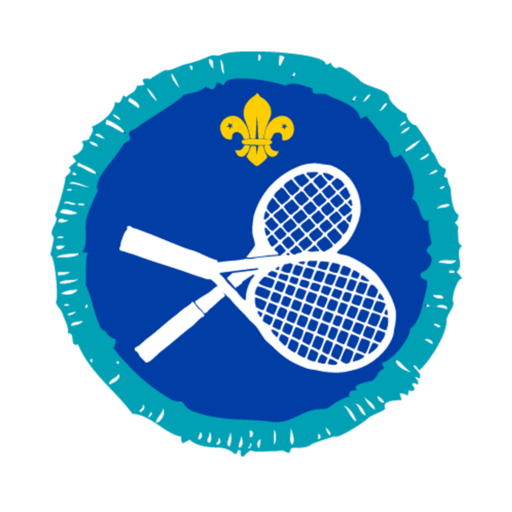 Explorers Racquet Sports Activity Badge