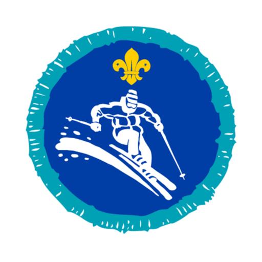 Explorers Skiing Activity Badge
