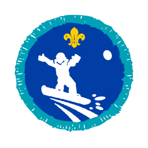 Explorers Snowboarding Activity Badge