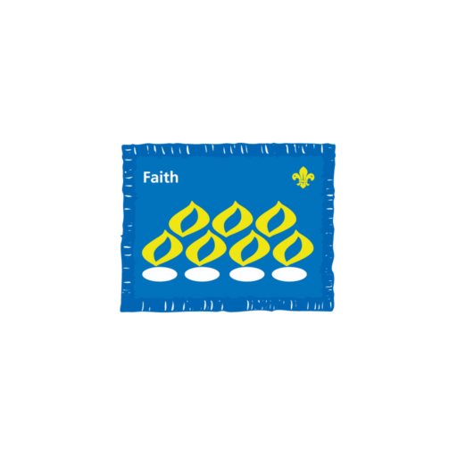 Faith Award Badge (Pre 2015 Collection)