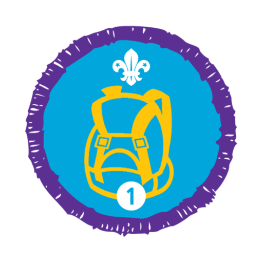 Hikes Away Stage 1 Staged Activity Badge