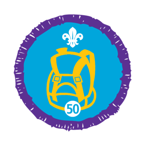 Hikes Away Stage 50 Staged Activity Badge