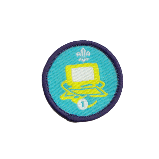 Information Technology Stage 1 Staged Activity Badge (Pre 2015 Collection)