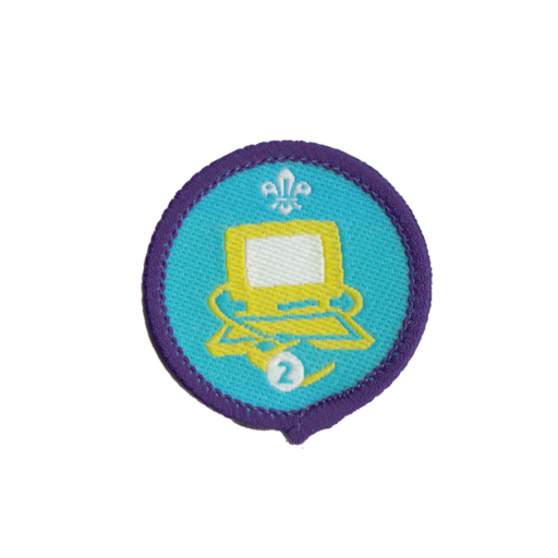 Information Technology Stage 2 Staged Activity Badge (Pre 2015 Collection)