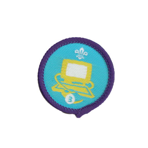 Information Technology Stage 3 Staged Activity Badge (Pre 2015 Collection)