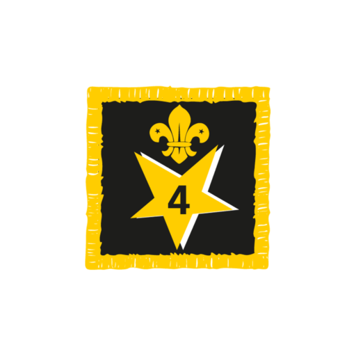 Joining In Award 4 Uniform Badge