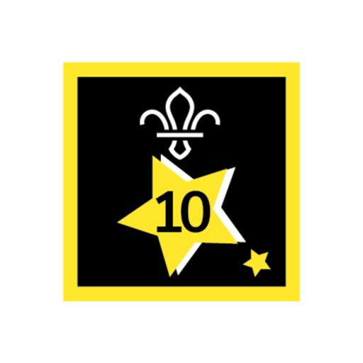 Joining In Award 10 Uniform Badge