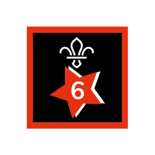 Joining In Award 6 Uniform Badge