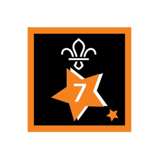 Joining In Award 7 Uniform Badge