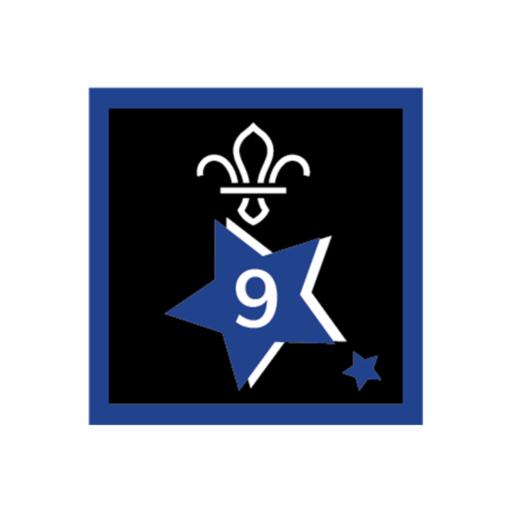 Joining In Award 9 Uniform Badge