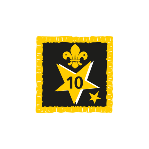 Joining In Award 10 Uniform Badge