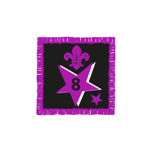 Joining In Award 8 Uniform Badge