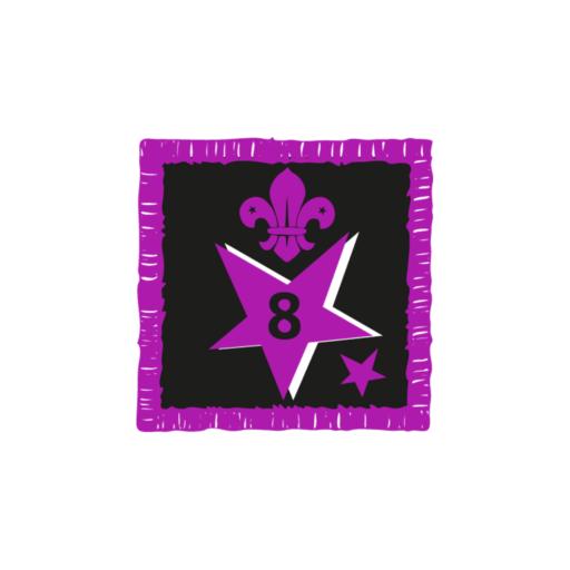 Joining In Award 8 Uniform Badge