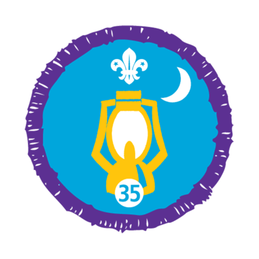 Nights Away Stage 35 Staged Activity Badge