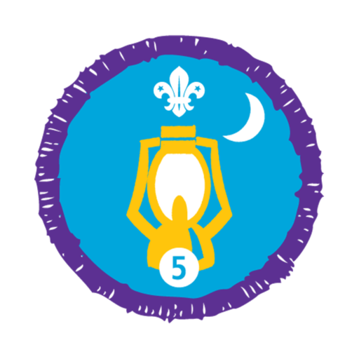 Nights Away Stage 5 Staged Activity Badge