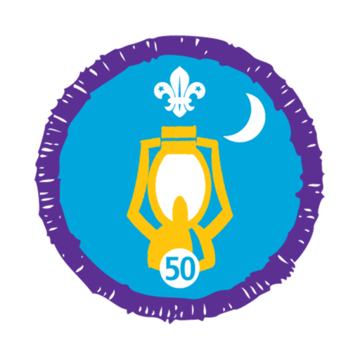 Nights Away Stage 50 Staged Activity Badge