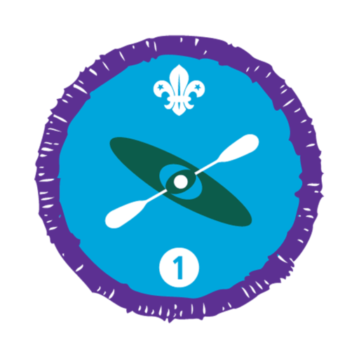 Paddle Sports Stage 1 Staged Activity Badge