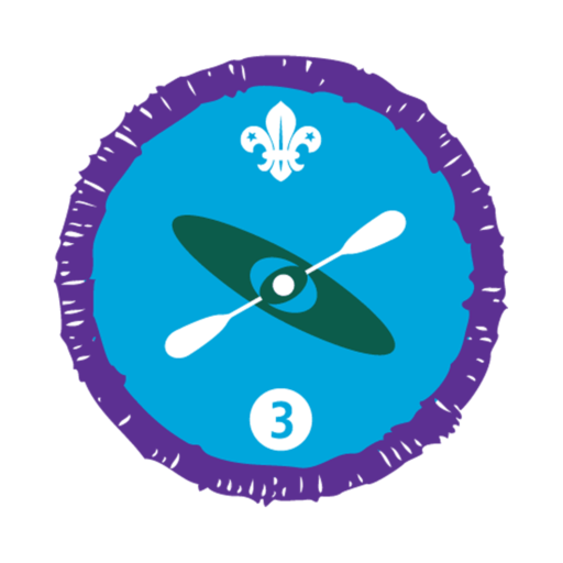Paddle Sports Stage 3 Staged Activity Badge