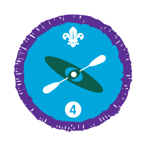 Paddle Sports Stage 4 Staged Activity Badge