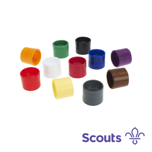 Plastic Woggle – Brown