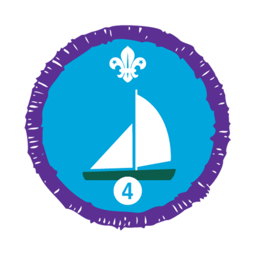 Sailing Stage 4 Staged Activity Badge