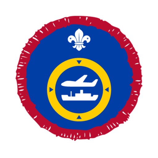 Scouts Air or Sea Navigation Activity Badge
