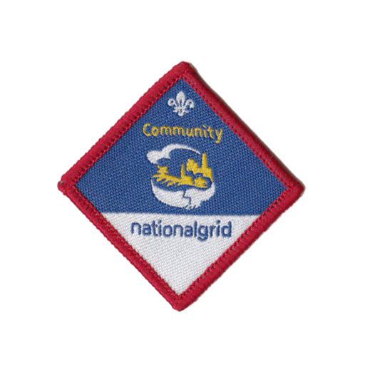 Scouts Community Challenge Award Badge (Pre 2015 Collection)