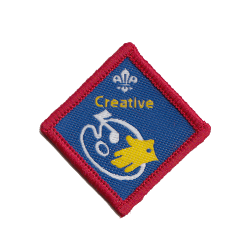 Scouts Creative Challenge Award Badge (Pre 2015 Collection)