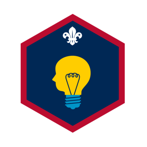 Scouts Creative Challenge Award Badge