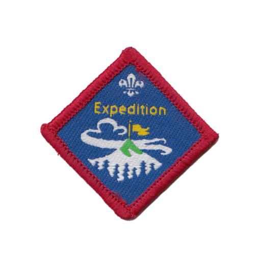 Scouts Expedition Challenge Award Badge (Pre 2015 Collection)