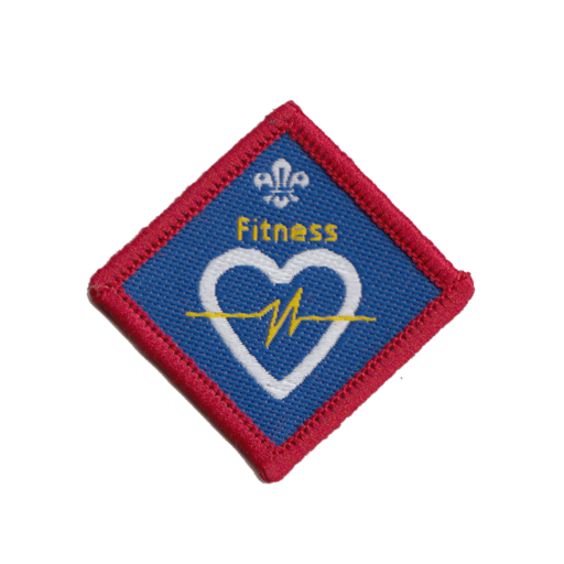 Scouts Fitness Challenge Award Badge (Pre 2015 Collection)