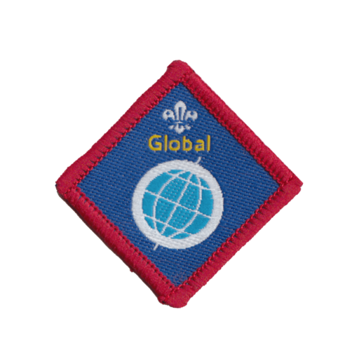 Scouts Global Challenge Award Badge (Pre 2015 Collection)