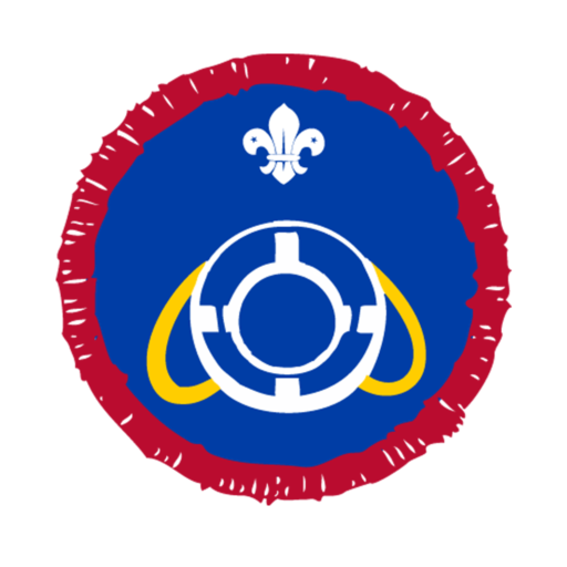 Scouts Lifesaver Activity Badge