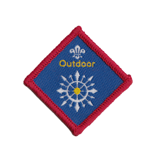 Scouts Outdoor Challenge Award Badge (Pre 2015 Collection)