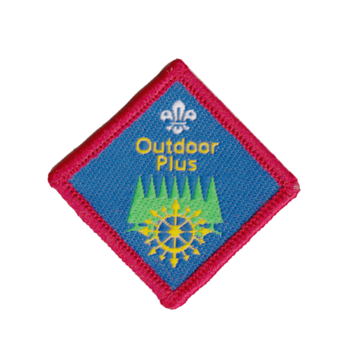 Scouts Outdoor Plus Challenge Award Badge (Pre 2015 Collection)