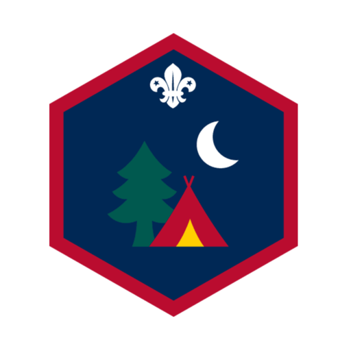 Scouts Outdoors Challenge Award Badge