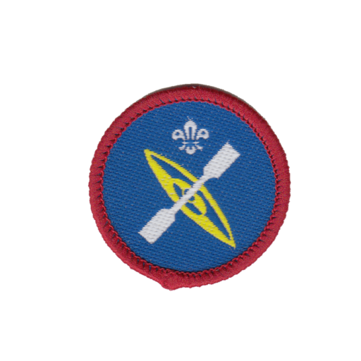 Scouts Paddle Sports Activity Badge (Pre 2015 Collection)