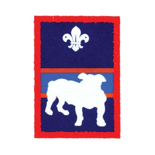 Scouts Bulldog Patrol Badge