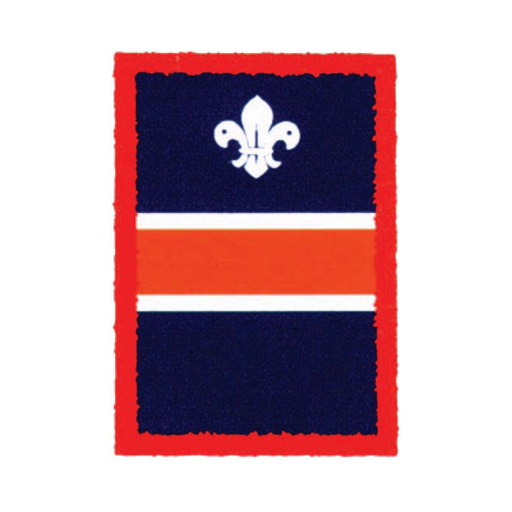 Scouts Orange Patrol Badge