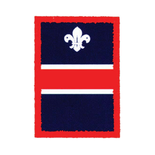 Scouts Red Patrol Badge