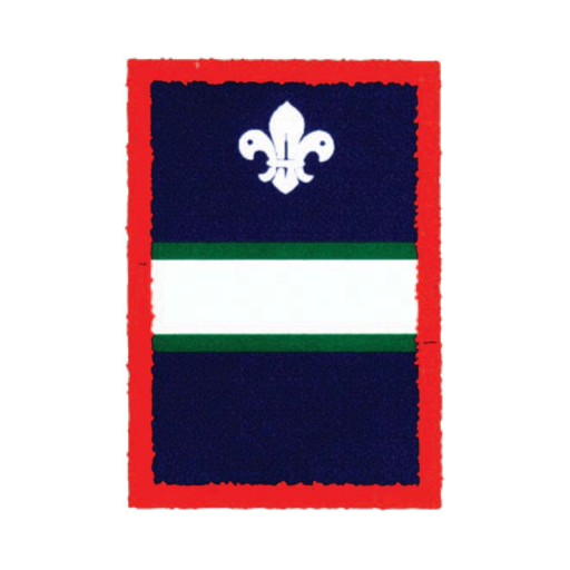 Scouts White Patrol Badge