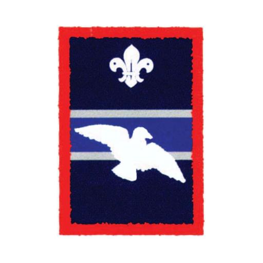 Scouts Woodpigeon Patrol Badge